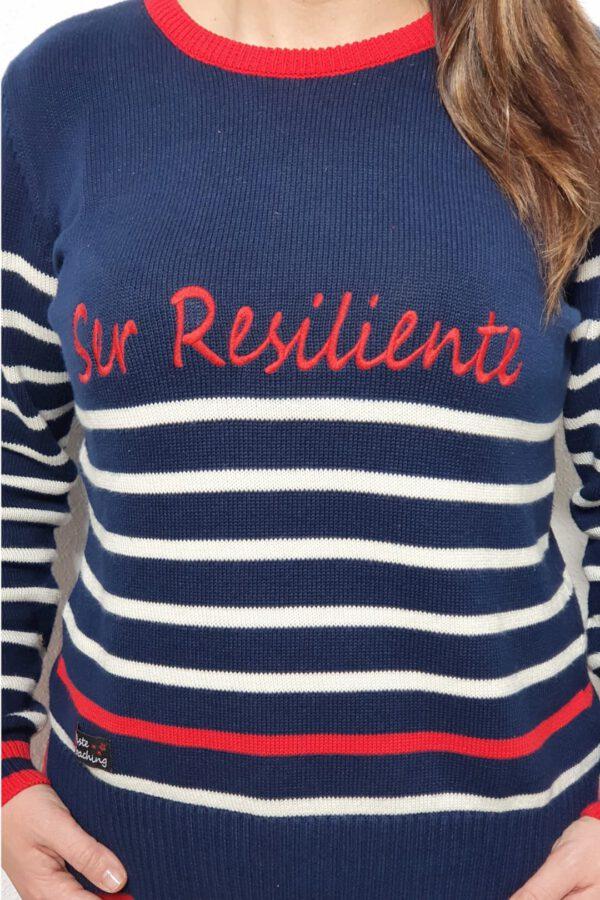 Prenda con mensaje resiliente Mujer